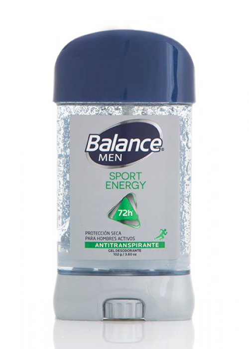 Desodorante Balance barra sport energy