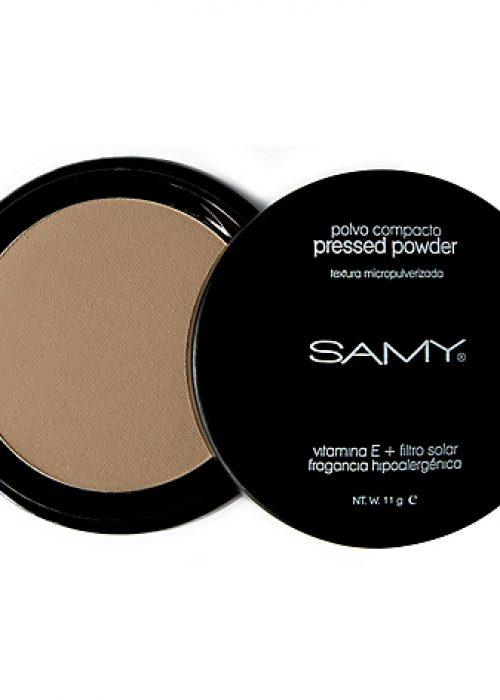 Polvo compacto micropulverizado sin espejo Samy