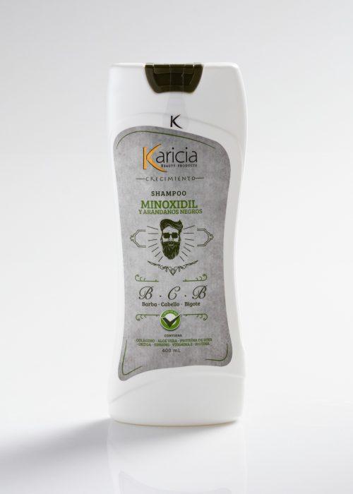 Shampoo Karicia minoxidil x400ml