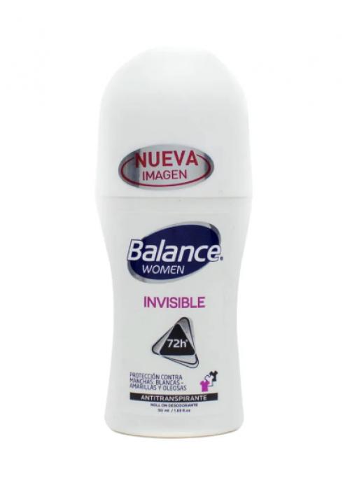 Desodorante Balance rollon invisible women