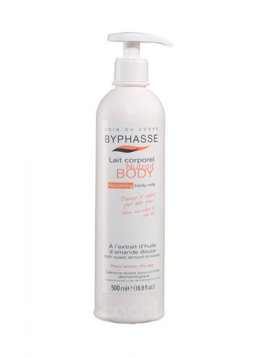 Crema corporal aceite de almendras Byphasse x500ml