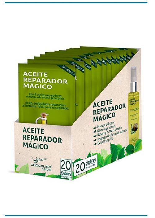 Aceite mágico reparador Chocoliss sobre x20und