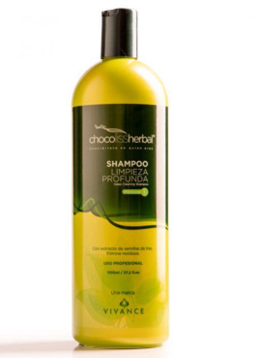 Shampoo limpieza profunda Chocoliss paso 1 x500ml