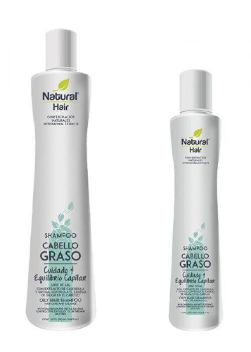 Shampoo cabello graso Naprolab