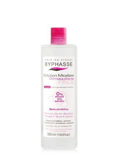 Agua micellar desmaquillante Byphasse x500ml