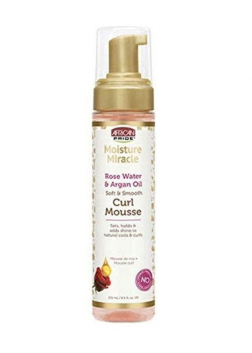 Curl Mousse Milagro Natural African Pride x8.5oz