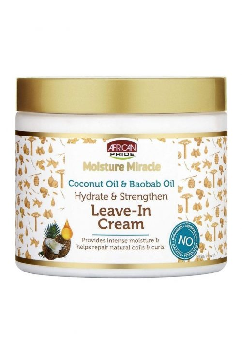 Leave-in Cream Milagro Natural African Pride  x15oz