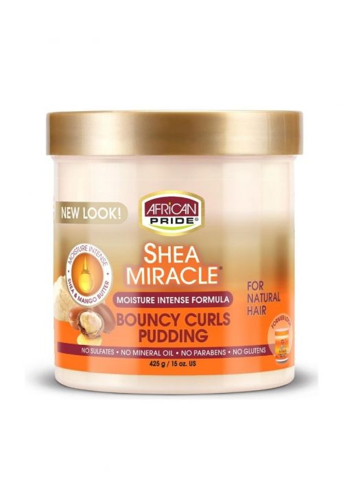 Pudding Shea Miracle African Pride x15oz